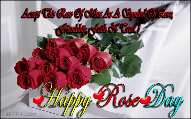 As A Symbol Of Love Rose Day Sms Hindi Best Wishes