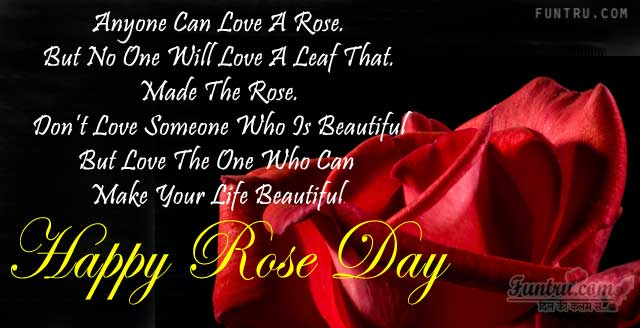 Make Your Life Beautiful - Rose Day Sms - Hindi Best Wishes