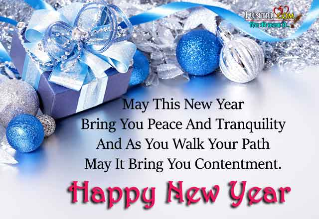New Year Best Wishes